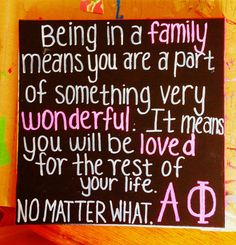 alpha phi canvas .... Precious Big/Little gift for SA