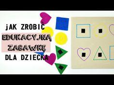 Edukacyjna zabawka sorter dla małego dziecka - Youtube tutorial -Zaradni Rodzice