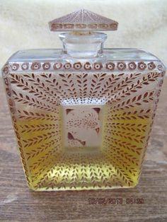 1925 LA Belle Saison Perfume Bottle Houbigant Lalique | eBay
