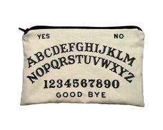 Ouija Board Makeup Bag / Pencil Pouch