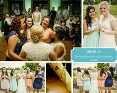 My wedding wouldn't have been the same without the touch of Alpha Gam. Not only did I attach my badge to my bouquet, I also had the honor of having my big as one of my bridemaids. My favorite part of the night was when the DJ called us sisters to the dance floor and my big lavaliered me! My wedding day was so perfect!