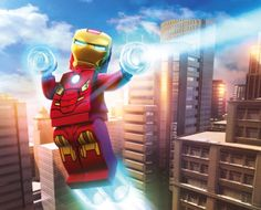Iron Man from Lego Marvel Superheroes
