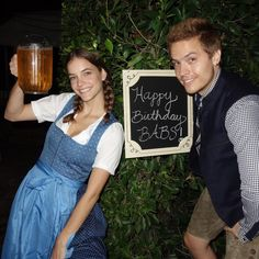 """Dylan Sprouse on Instagram: """"Late but worth the wait. Happy birthday to my Oktoberfest fraulein. Very proud and excited to be on this journey with you. You grow greater…"""""""
