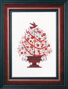 Christmas Tree 2009 From Mirabilia Design - Nora Corbett - Cross Stitch Charts - Embroidery - Casa Cenina