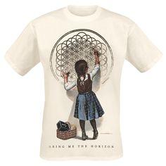 Bring Me The Horizon Sempiternal Herren-T-Shirt - sand - Offizielles Merchandise Oli Sykes, Bring Me The Horizon, Band Merch, Band Shirts, Punk Fashion, Fashion 2020, Lolita Fashion, Designer Clothes For Men, Clothes For Women