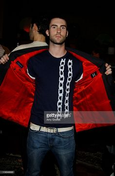Adam Levine of Maroon 5 with Hilfiger during GRAMMY Style Studio Day 3 at Ocean Way Recording Studios in Los Angeles, California, United States.