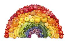 Colors = antioxidants Eat a colorful diet to be healthy