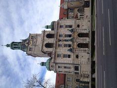 Das Bayerisches Nationalmuseum (gegr. 1855). Die Fassade des Gebaeudes fasziniert mich. Auch die Modelle des Stadt Muenchens.