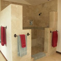 Shower No Door Design Ideas, Pictures, Remodel, and Decor - page 9