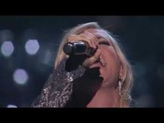 Carrie Underwood with Vince Gill (How Great thou Art) - Standing Ovation...