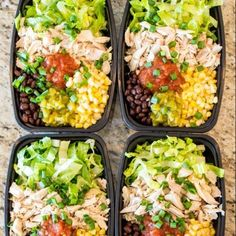 NoCook Meal Prep Burrito Bowls lunch mealprep is part of No cook meals - These solid dinner prep burrito bowls can be made in around 10 minutes and will keep going all of you week long Here is the key precooked chicken… Best Meal Prep, Lunch Meal Prep, A Food, Good Food, Food Prep, Lunch Recipes, Healthy Recipes, Dinner Recipes, Paleo