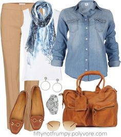 """Out and About"" by fiftynotfrumpy ❤ liked on Polyvore"