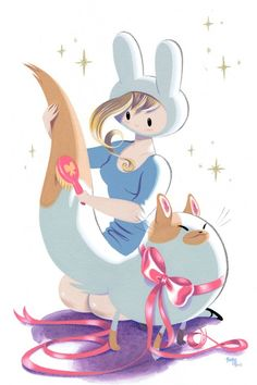 Adventure Time - Fionna and Cake    Pink Vader » Fionna e Cake, de Adventure Time, vão ganhar história em quadrinhos