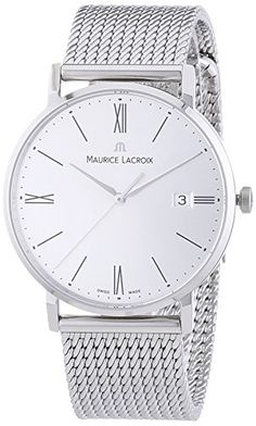 Maurice Lacroix Men's Watch XL Eliros Analogue Quartz Stainless Steel…