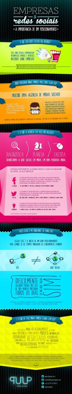 #Infográfico - A importância de um bom posicionamento nas redes sociais: http://ale.pt/SQMoBA