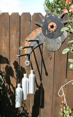 Great place to hang chimes or planters
