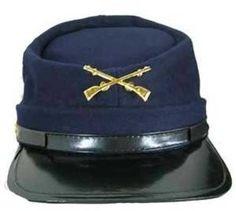 Amazon.com: NAVY BLUE UNION ARMY KEPI CIVIL WAR COSTUME NOVELTY HAT: C...