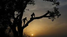 Trepadores Recreativos Silhouette, Good Things, Celestial, Sunset, Outdoor, Human Being, Outdoors, Sunsets, Outdoor Games