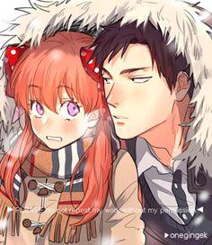 Sakura Chiyo x Nozaki Umetarou / Gekkan Shoujo Nozaki-kun Manhwa, Manga Anime, Anime Art, Maid Sama, Vocaloid, Monthly Girls' Nozaki Kun, Gekkan Shoujo Nozaki Kun, Cute Anime Couples, Anime Ships