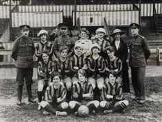 Престон армии кассу дамы с' футбольная команда (1918).