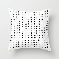 dot dot dot Throw Pillow by Berlyn Hubler - $20.00