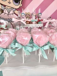 Presley's LOL Surprise Doll Party | CatchMyParty.com #outdoorideasparty