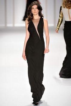 J. Mendel Fall 2012 Ready-to-Wear Fashion Show - Jacquelyn Jablonski