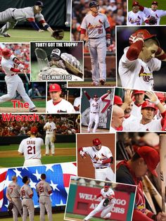 Allen Craig. Great collage by Keely, Goodbye, we will miss you. TRADED, 7-31-2014, to Boston