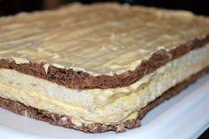 Prajitura Cremissimo Easy Cake Recipes, Dessert Recipes, Dessert Drinks, Pavlova, Coco, Fondant, Biscuits, Caramel, Goodies