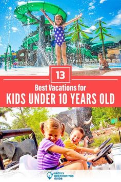 Want ideas for a family vacation with kids under 10 years old? We're FamilyDestinationsGuide, and we're here to help: Discover best vacations for kids under 10 years old - so you get memories that last a lifetime! #vacationwithkids #youngkidsvacation #familyvacation Best Vacations With Kids, Best Family Vacation Spots, Family Vacation Destinations, Family Road Trips, Vacation Trips, Fun Vacations, Family Getaways, Vacation Travel, Vacation Ideas