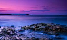 XiNature.com - Sky Nature Photography Purple Free Desktop Wallpaper