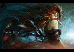 Wind Queen by Rustam Freeman