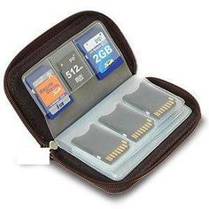 Memory cards are so compact that unfortunately they can be easily lost or damaged. This anti-static memory card case keeps all your memory cards safely stored so you always know where they are. You won't be digging in the dusty bottom of your camera case or briefcase looking for your valuable memory cards anymore. Memory cards not included.