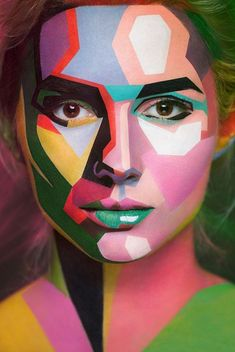 Fotografie Alexander Khokhlov Photography Face Art Art A them Face Painting Designs, Paint Designs, Painting Art, Belly Painting, Painting Tutorials, Painting Abstract, Human Painting, Painting Tattoo, Abstract Portrait