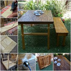 1000+ images about Patio/coffee table for the garden on Pinterest ...