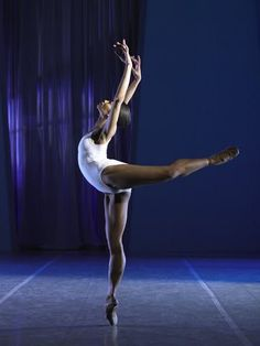 Lauren Anderson~Houston first African-American ballerina to be principal of a major company