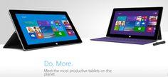Microsoft presentó las nuevas Surface 2 y Surface Pro 2.