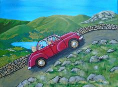 A Grand Day Out acrylic on 30cm x 40cm canvas