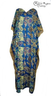 212679450e3fd Thai Rayon Kaftan Dresses Archives - Mystical Mayhem Hippy Clothing and  Gifts