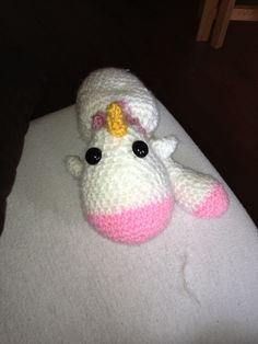 Amiguri unicorn - crochet
