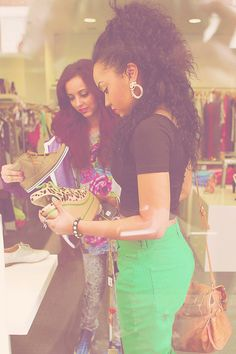 Jade and Leigh Anne