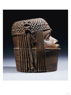 Benin bronze ~Repinned Via Rien Catherine Kate  http://www.google.es/imgres?q=benin+bronze=es=firefox-a=sSg=X=org.mozilla:es-ES:official=1024=595=isch=imvns=sW08z8pP5ZqjdM:=http://www.art.com/products/p13065972-sa-i2299644/an-extremely-fine-benin-bronze-head-uhunmwun-elao-
