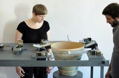 a quick overview of mischer'traxler Design projects. design projects by mischer'traxler are strongly experimental and conceptual, foucsing on meaning and logic outcome. Design Maker, Machine Design, Tecno, Architecture Magazines, Parametric Design, Making Machine, Design Process, Industrial Design, Design Trends