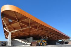 Assen, the new highway support center, 24h architecture