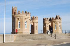 Withernsea Promenade in Yorkshire.