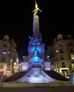 Luxury Discovering Reims under the moonlight Sub fountain europeans france reims europe