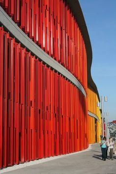 Zaragoza, Spain, el territorio Expo nueva arquitectura