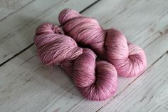 Colorways | Julie Asselin The Prettiest pink I have ever seen. This yarn is on my wish list!!!!!