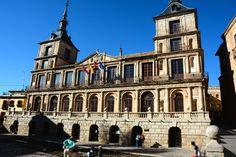 Ayuntamiento de Toledo, España.