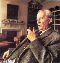 J. R. R. Tolkien is the undisputed father of the fantasy genre. True he was not technically the first, but it is his works that popularized the genre. He is one of the top selling authors of all time and the 2009 Forbes List of Top Earning Dead Celebrities had him ranked #5 just below Elvis presely with earnings of more than $50 million.